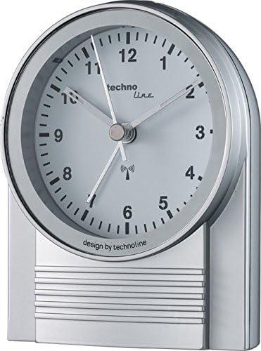 Technoline WT280 R/éveil de Radio Argent//Noir 12 x 5 x 10,5 cm