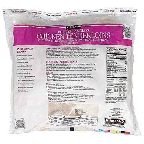 Kirkland Signature Expect More Chicken Tenders, 6 lb