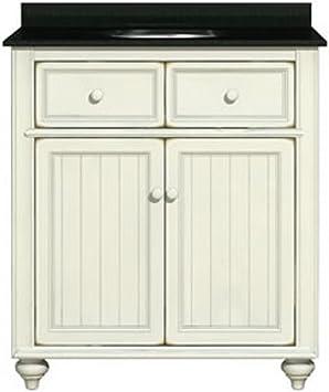 Sagehill Designs Cr3021 Cottage Retreat 30 Inch Vanity Base Antique White Bathroom Vanities Amazon Com