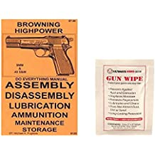 Ultimate Arms Gear Browning Highpower Do Everything Manual Gun Cleaning Wipe