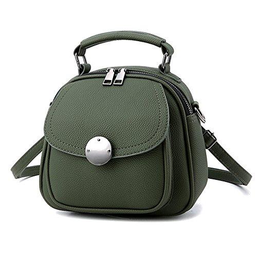 mochila mujer Mini mochila de teléfono cuero Pu mochila para las mujeres Mochilas tipo casual bolsa shopper Rojo Bolsos Mochila Verde Bolsos Mochila
