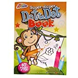 "A4 Childrens ""Super-Duper"" Dot-To-Dot Book with Colouring In - 80 Pages - Size - 297mm x 210mm"