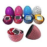 Yidarton Electronic Pets Child Toy Key Tumbler Dinosaur Egg Virtual Pets (Blue)