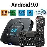 Android Tv Box 9.0, TV Box 2.4G...