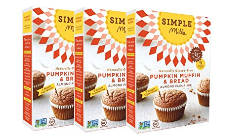 Simple Mills Almond Flour Mix, Pumpkin Muffin & Bread, 9 oz, 3 count