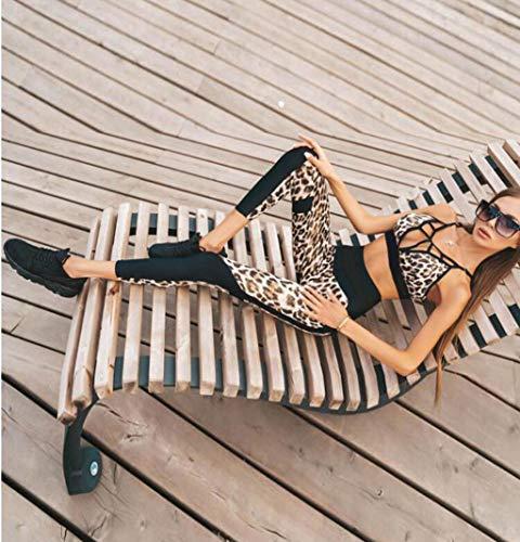 Myydd Fitness Americanas Sujetador Set Ropa Leopardo Pantalones Gimnasio Europeas Mujeres De Y Traje Ajustados Las m Yoga rznrx