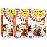 Simple Mills Pumpkin Muffin & Bread Mix - Pack of 3