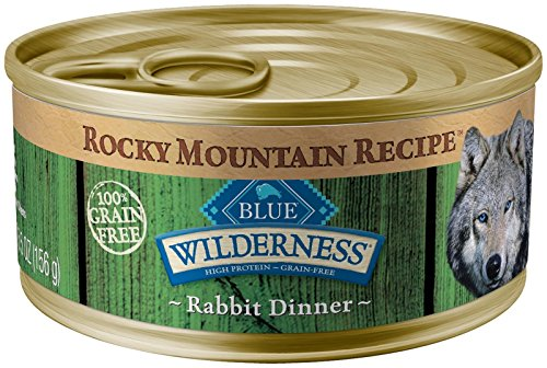 Blue Buffalo Wilderness Rocky Mountain Recipe Adult - Rabbit - 5.5 Oz - 24 Ct