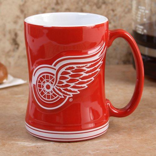 Detroit Red Wings 15oz. Ceramic Relief Mug