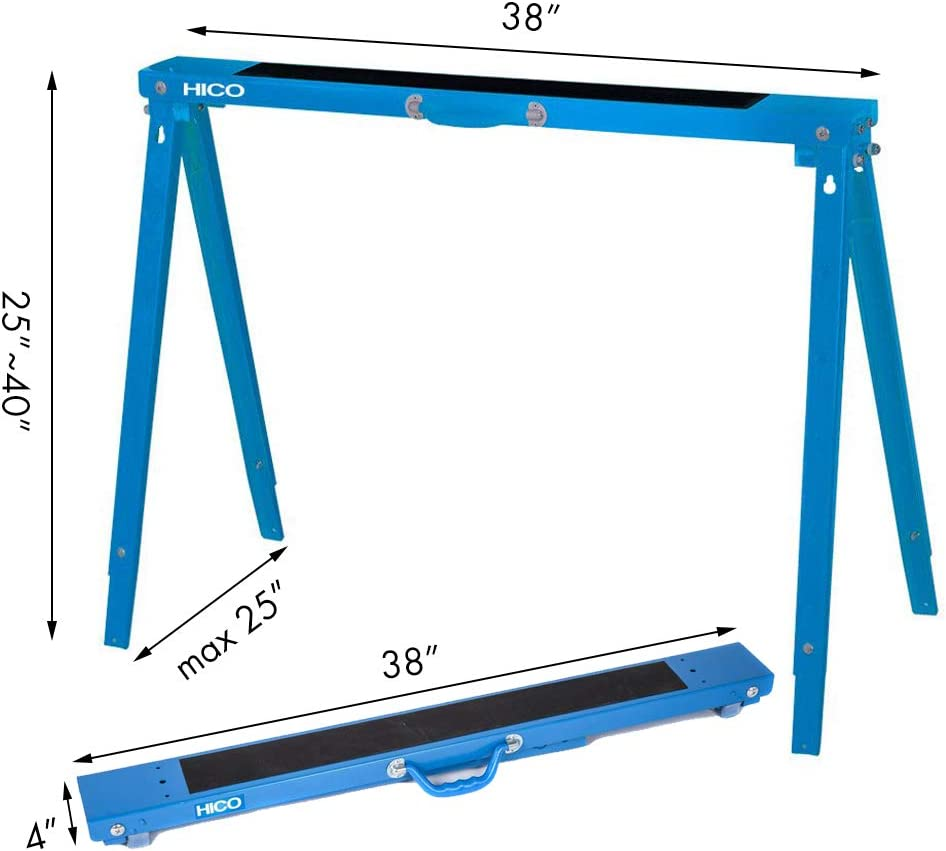 HICO Folding Legs Heavy Duty Sawhorse