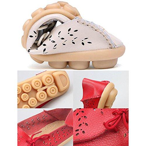 DULEE - Sandalias deportivas de Piel para mujer color 3