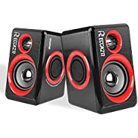 Surround Computer Speakers with Deep Bass USB Wired...