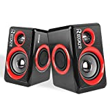 Computer Speakers With Surround Subwoofer Heavy Bass USB Wired Powered Multimedia Speaker