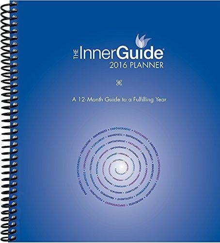 InnerGuide 2016 Planner, JanDec Calendar with Journal, Goal & Life Coach Planner