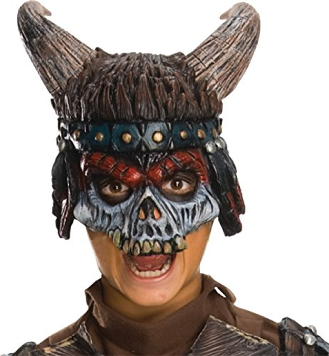 Apache Warrior Costume (Rubie's Costume Child's Apache Warrior Chinless Horror Mask)