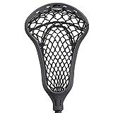 STX Lacrosse Exult 400 Girls Complete Stick with Crux Mesh Pro Pocket, Graphite