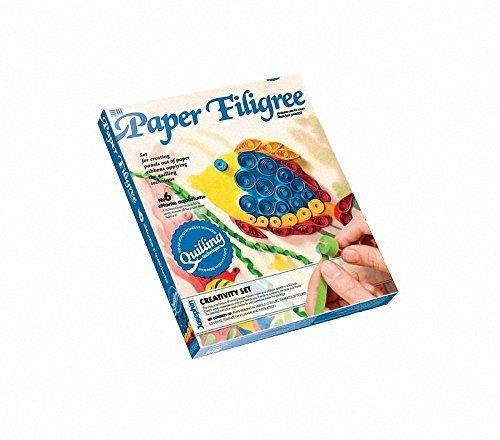 Home Aquarium Paper Filigree Set