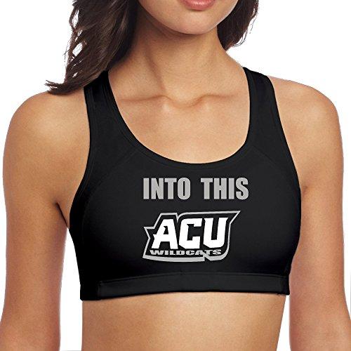 [NINJOE Women's Fashion I Married Into ACU Yoga Vest Black S] (Cool Runnings Costume Melbourne)