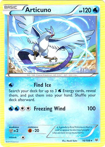Pokemon - Articuno (16/108) - XY Roaring Skies