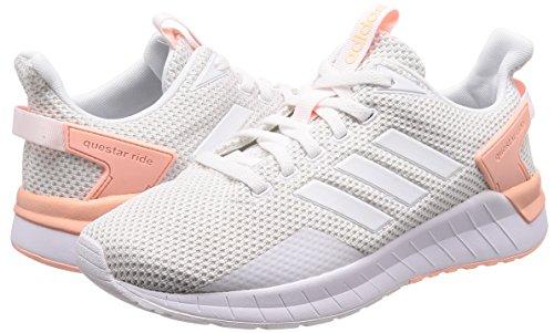 blanco Femme Adidas De Chaussures 000 Ride ftwbla Running Questar corneb Blanc Comptition griuno wSnSfxHq