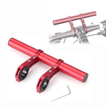 ASTARC Cuadro de Extensi/ón Multifunci/ón para Manillar de Bicicleta Extensor de Manillar de Aleaci/ón de Aluminio para Bicicleta de Monta/ña Extensi/ón de Clip Soporte para Linterna de l/ámpara