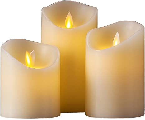 battery operated candles with remote