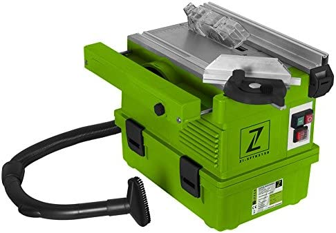 Sierra Circular de mesa con aspiración 1,1 kW/230 V/HM hoja de sierra de 140 mm: Amazon.es: Bricolaje y herramientas