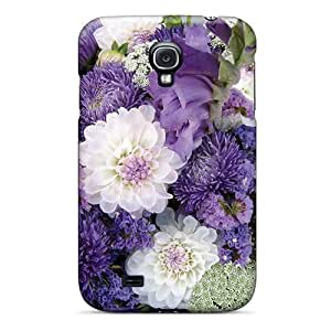 Excellent Galaxy S4 Case pc Cover Back Skin Protector Flowers Bouquet For My Sweet Friend Luiza Dreamer Girl