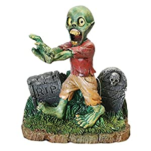 Zombie Walking Tombstone Ornament