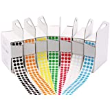 "1/4"" Assorted Color-Code Sticker Dot Variety Kit 