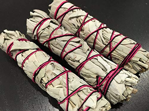 Morocca White Sage Smudge Stick Bundles Bulk Smudging Choose 1 3 6 12 30 60 Wholesale ()