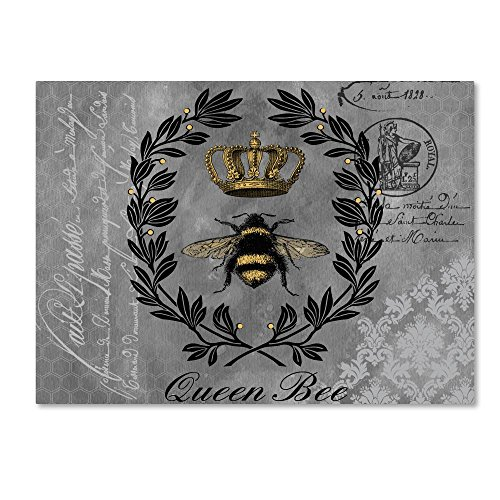 Queen Bee 2 by Jean Plout, 18x24-Inch Canvas Wall Art ()
