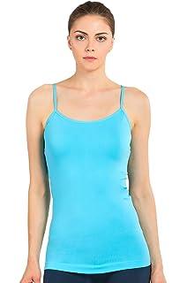 17640f99cf8c8 MOPAS Women s Seamless Nylon Camisole Tank Top