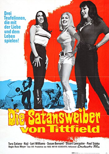 Faster Pussycat, Kill! Kill! 1965 Movie Poster Russ Meyer