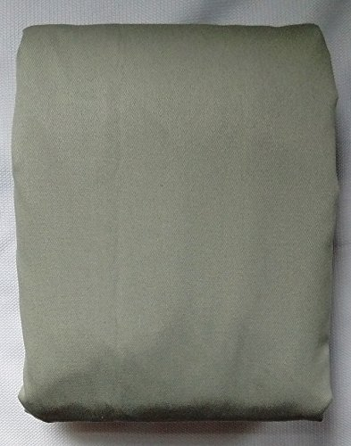 Pillowfort, Twill Light-Blocking Curtain Panel, Solid Gray,