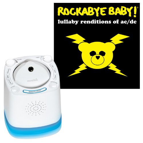 Munchkin Nursery Sound Projector with Rockabye Baby Lulla...