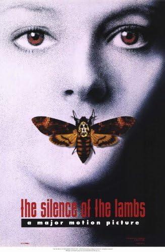 Amazon.com: El silencio de los corderos del cartel de ...