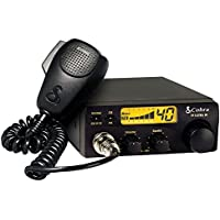 Cobra 19ULTRAIII 40 Channel Compact Citizen Band Radio with Microphone & Display (Certified Refurbished)