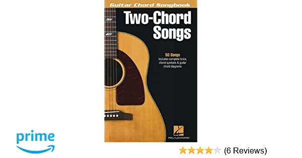 Amazon.com: Two-Chord Songs - Guitar Chord Songbook (0884088906443 ...