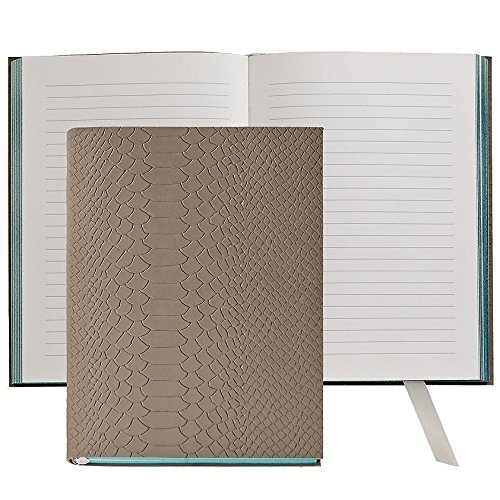 The MILLENNIAL JOURNAL Driftwood Embossed Python Leather by Graphic Image™ - 6x8 by Graphic Image