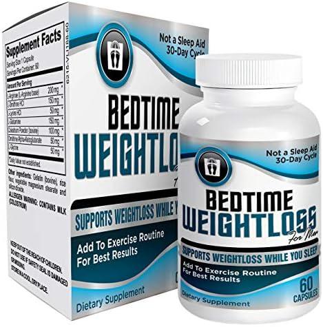 Mens Bedtime Nighttime Weight Pills