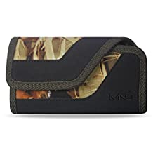 Huawei Y6 Pro (2017) Clip Holster, Horizontal Camouflage Rugged Case Pouch Holster for Huawei Y6 Pro (2017) , w/ Card Holder (Fits w/ Otterbox Symmetry/ Commuter / Lifeproof Case On)