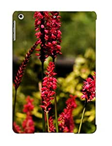 Crazinesswith Brand New Defender Case For Ipad Air (red Flowering Plants) / Christmas's Gift