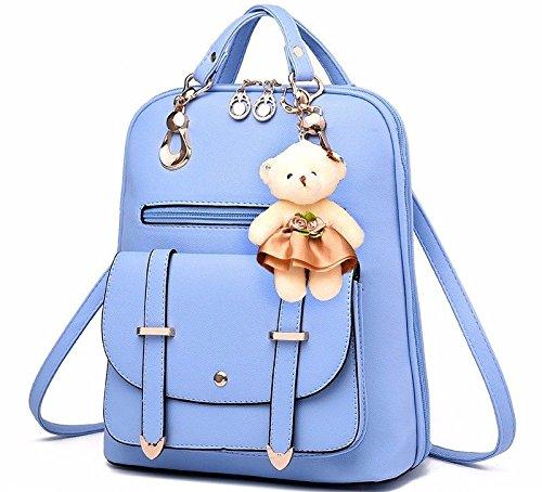 pour et à Sac Double bleu Mode MSZYZ Style Sac Bandoulière Femme 7AqZZ4