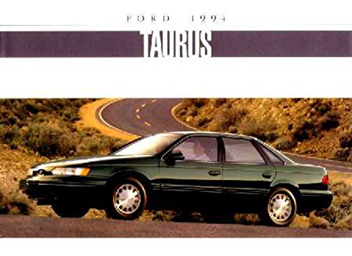 - 1994 Ford Taurus Sales Brochure Literature Book Piece Dealer Advertisement