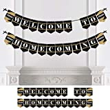 Big Dot of Happiness Personalized HOCO Dance - Custom Homecoming Bunting Banner & Decorations - Custom Homecoming Banner