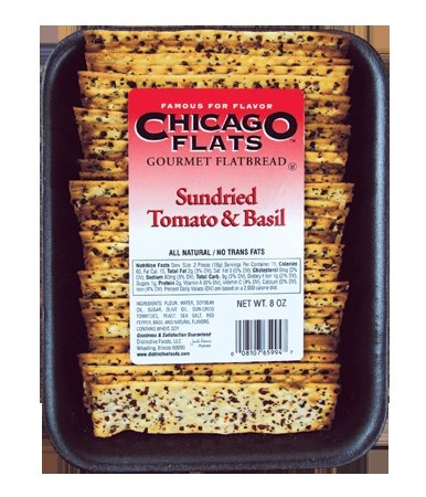 CHICAGO FLATS 82288 CHICAGO FLATS FLATBREAD SD TMO BSL - Pack of 10 - 8 OZ