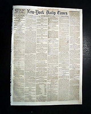 MORGAN COUNTY Kentucky Lynching Hanging Lynch Mob 1856 Old Newspaper