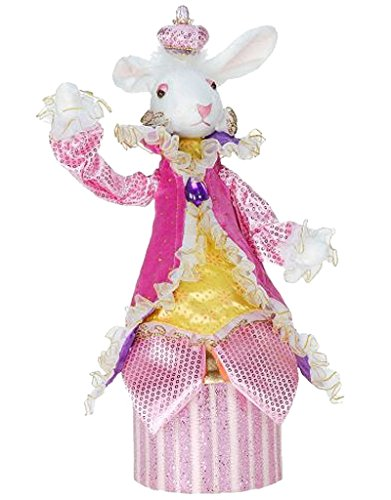 Mark Roberts Bunny Rabbit Candy Box 14 inch - Pink ()