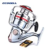 Cheap Ecooda Cortez Deluxe Spinning Reel Freshwater/Saltwater Fishing 8 Stainless Steel Ball bearings, Gear Ratio: 5.3:1 CZS10/20/30/40